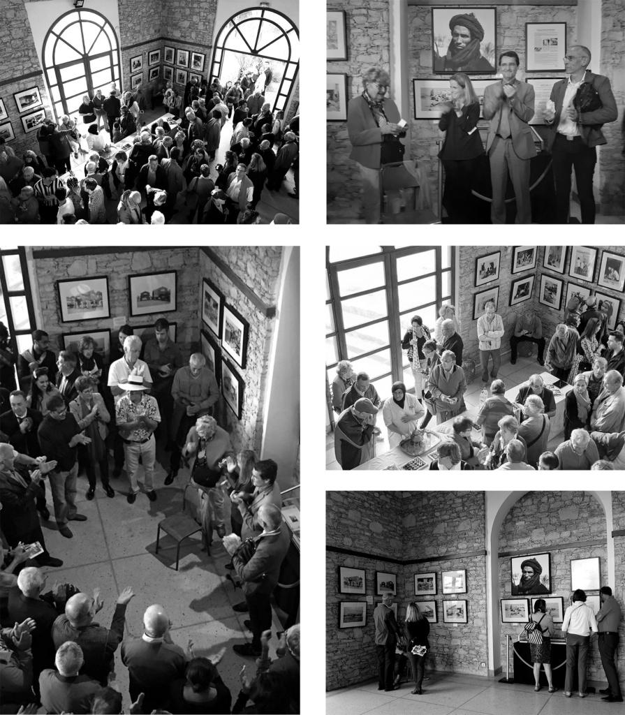 photos prises lors de l'exposition à l'IFA