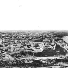 panorama d'Agadir avec vue sur la plage et le port de la ville dans la vallée du Souss