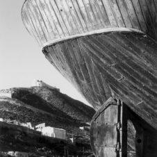 Agadir bateau port casbah carénage gouvernail planches bois casbah réparation