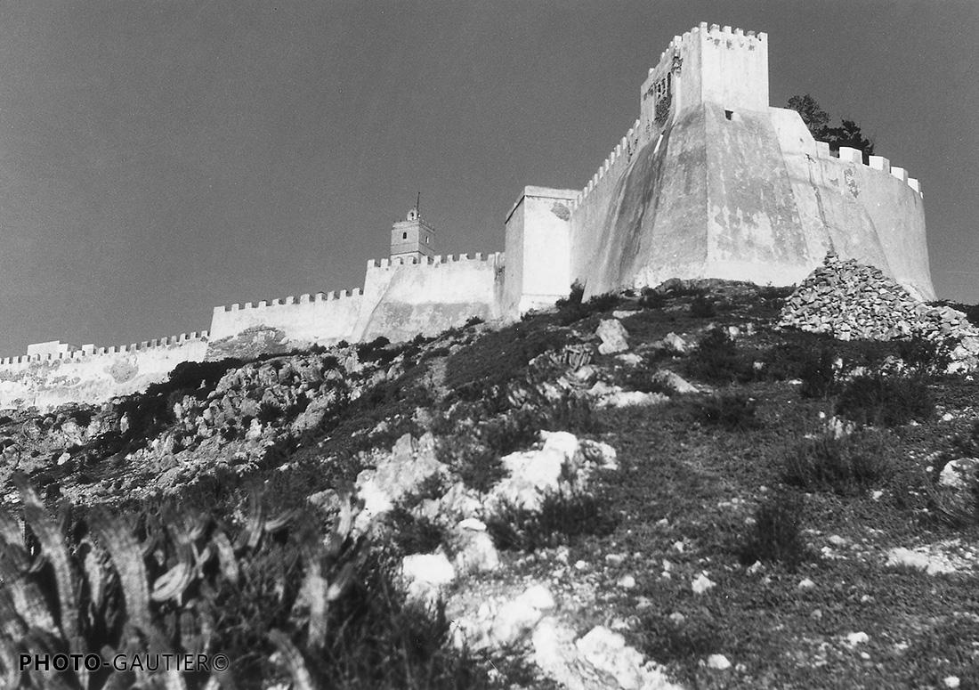 Agadir remparts forteresse murailles cactus pierrailles fière