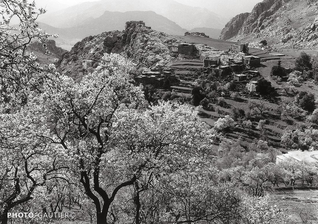 paysage campagne terrasse culture atlas champs roche