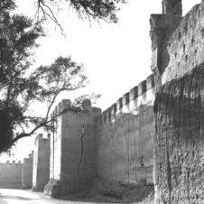 photo des murailles de la forteresse