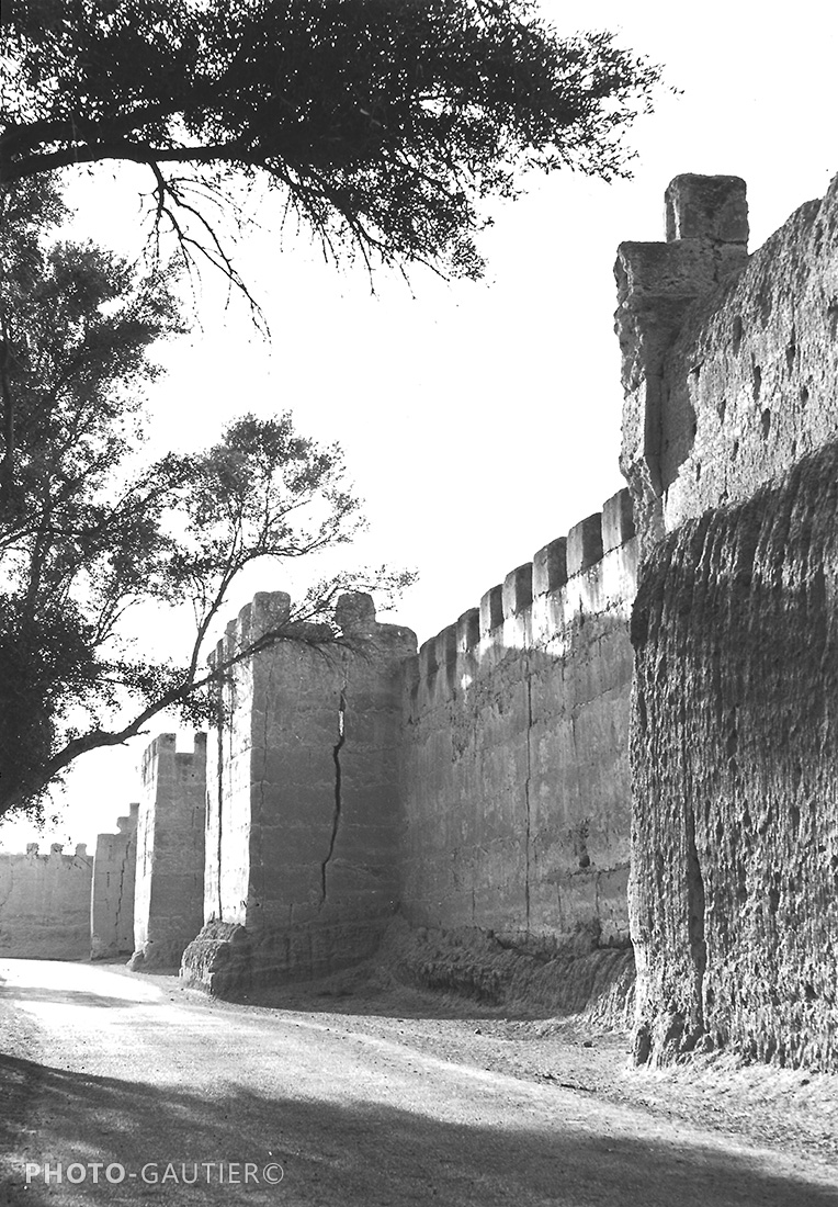 Souss Taroudant murailles forteresse fissure créneaux crénelé