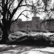 photo de l'entrée de la forteresse de Taroudan